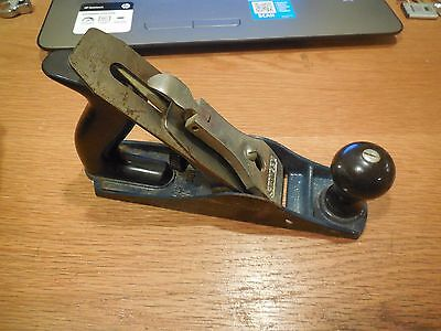 Stanley Wood Plane # G12-203  Made in England 25 Degree Angle for Grinding