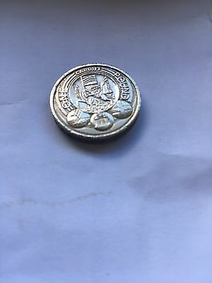 2011 CARDIFF  - capital cities of the UK £1 ONE POUND COIN