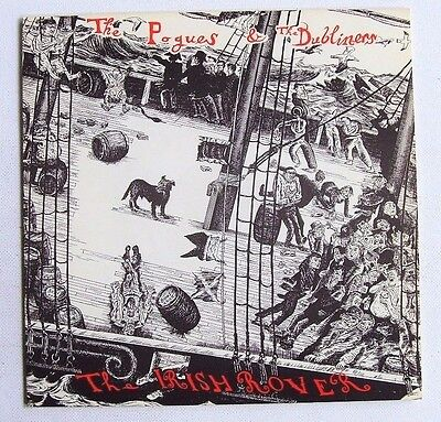 The Pogues & The Dubliners - The Irish Rover - 1987 STIFF (VG+/VG+)