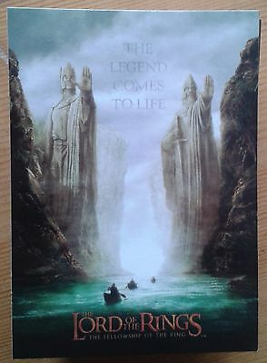 The Lord of the Rings The Fellowship of the Ring 90 trading card base set LOTR