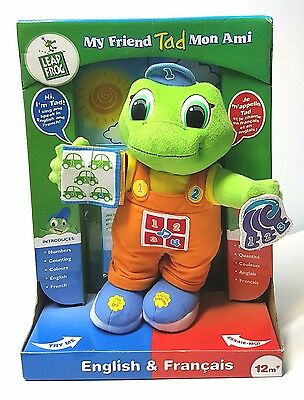 Leap Frog My Friend Tad - Sings and Speaks in English and French 12 mo+