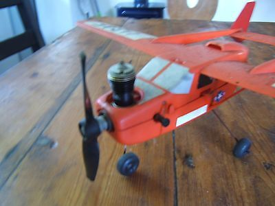 VINTAGE COX USAF.049 Engine Powered Control Line Plane - SPARES OR REPAIR