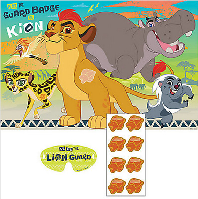 Disney Junior The Lion Guard Birthday Party Game