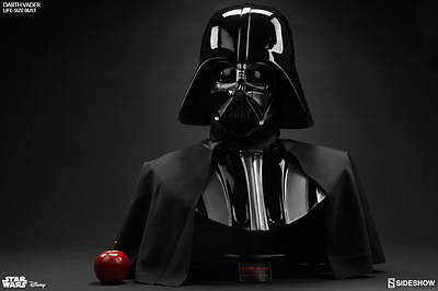 Sideshow Darth Vader Life Size Bust NEU in OVP