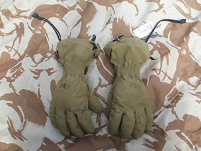 OUTDOOR RESEARCH (OR) FIREBRAND Gore-Tex Gloves L -NEW! COYOTE TAN