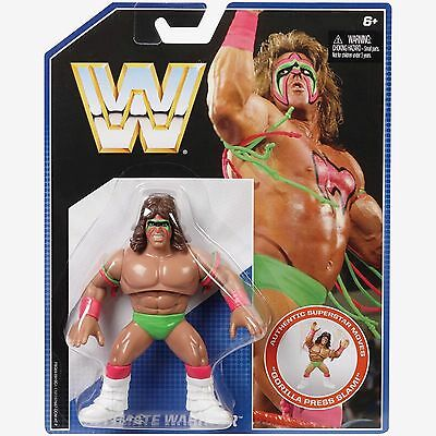 WWE Retro Action Figure Ultimate Warrior WWF Hasbro Brand New