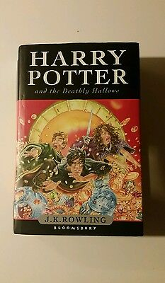 Harry Potter And The Deathly Hallows Hardback Book 1St First Edition J K Rowling