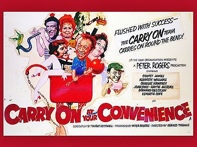 "Carry on at your convenience 16"" x 12"" Reproduction Movie Poster Photograph"