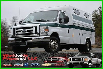 2008 Ford E-Series Van Enclosed Utility Van 08 Ford E-350 E350 XL Cutaway Enclosed Utility Van 5.4L Triton Gas Used Truck