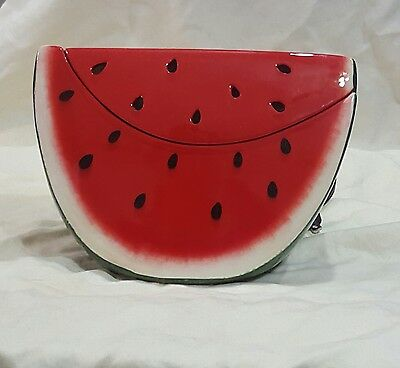 "WATERMELON scentsy element warmer New In Box 6"" tall Retired / Discontinued Red"
