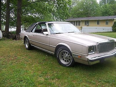 1982 Chrysler Cordoba  1982 Chrysler Cordoba with T-Tops