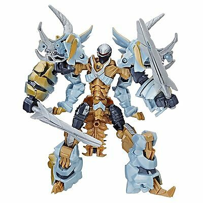 Transformers 5 Mv5 The Last Knight Deluxe Dinobot Slug Premier Edition Figure