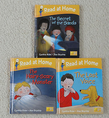 Oxford Reading Tree, Read at Home  Stage 5,  3 Hardback books