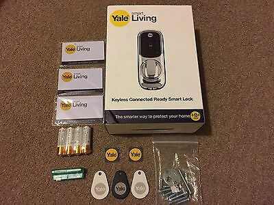 New Yale Keyless Connected Touch Screen Smart Wireless Door Lock + Z-WAVE MODUL+
