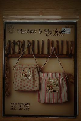 Quilted bag pattern: Mommy & Me Totes by Renee Plains