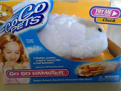 Brand New GoGo Pets Hamster Chunk Character In Box Batteries Included NIB