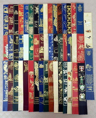 Leather Bookmarks - Bulk Lot Of 50.