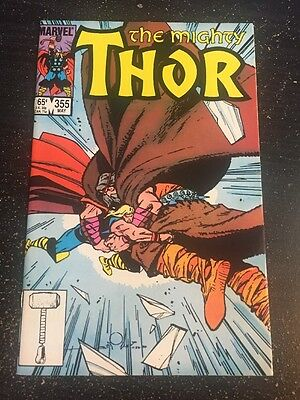 Mighty Thor#355 Incredible Condition 9.4(1985) Simonson Cover!!