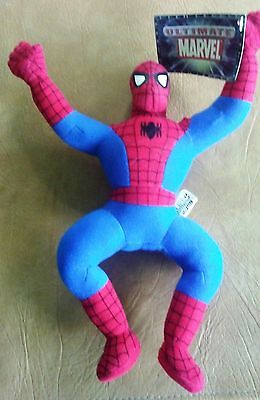 "Mavel Spider Man Action Plush Doll -8"" Small Spiderman Soft Stuffed Toy"