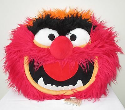 Animal, Muppets Large 3D Head Cushion, Soft Toy From The Disney Store