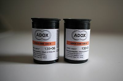 ADOX CHS 100 II Black & White 135*36 film pack of 2 expired