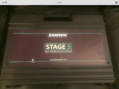 Samson stage 5 electric guitar wireless system