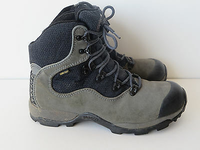 Brasher walking boots, Ladies Freelite, Gore-Tex, suede & fabric/grey & black, 6