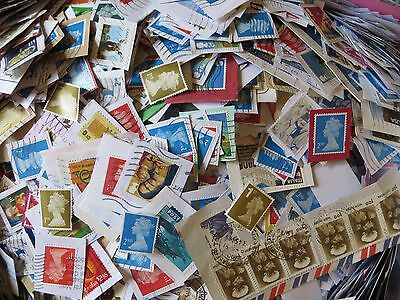 1.5kg Box of GB and World Wide stamps from Charity Kiloware (#5)