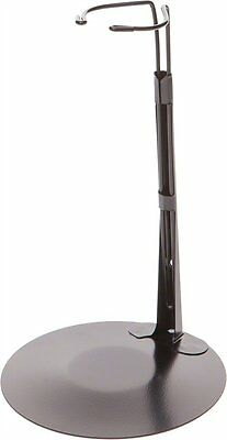 """Kaiser Doll Stand for 16"""" to 26"""" Fashion Dolls Metal Adjustable Black New ."""