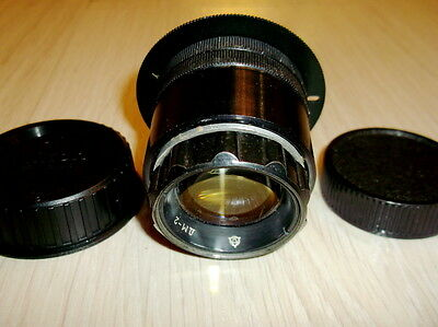 Projection lens DM-2Triplet f/2.8/78 mm. SLR  NIKON F mount INFINITY IS