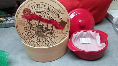 Brand New Petite Maison Red Brie Baker - Never Used !