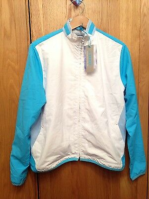 ladies Green Lamb golf jacket bnwt