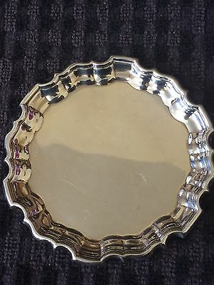 Vintage Solid Silver Pin Dish - Mappin & Webb,1930-51g
