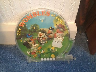 Wombles Vintage Bagatelle Marx Pinball Game 1974 Excellent Working Condition