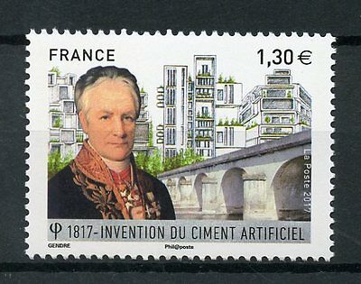 France 2017 MNH Invention of Cement Bicentenary 1v Set Stamps