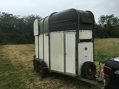 Rice horse trailer double horse trailer