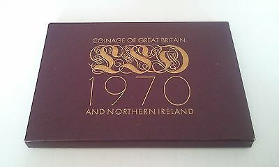 1970 Royal Mint Proof Coin Set And C.O.A