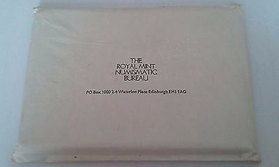 1971 Royal Mint Proof Coin Set With Original Outer Envelope