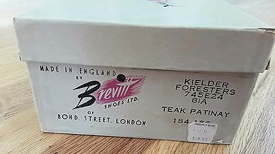 Vintage Brevitt shoes Cardboard BOX Advertising prop Frederick and Nelson