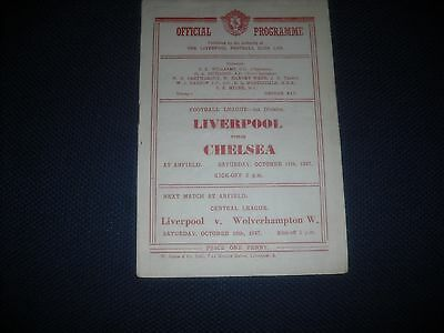 Liverpool  V Chelsea,1947-48,league Division One