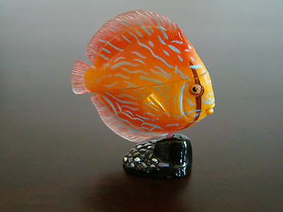 NEW Japan KAIYODO FURUTA New Choco Egg DISCUS FISH Miniature Pet Animal Series 2