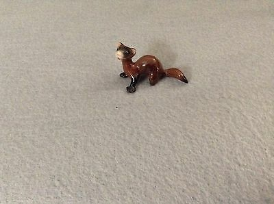 Hagen-Renaker Mini #3319 FERRET LYING - Miniature Ceramic Figurine