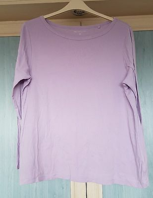 3 T.Shirts, size 22, White from Next, Lilac, Raspberry from Next.