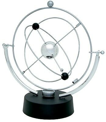 Motion Perpetual Toy Desk Kinetic Electronic Art Office Revolving Gift Decor