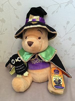 Pre-owned: Disney 'Winnie the Pooh' Witch Halloween Exclusive Soft Plush Toy