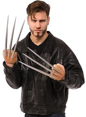 Wolverine Claws Marvel X-Men Superhero Fancy Dress Halloween Costume Accessory