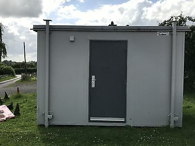 12' x 9' Portable Office Cabin