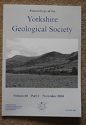 Proceedings of the Yorkshire Geological Society from 1994 to 2014 very cheap