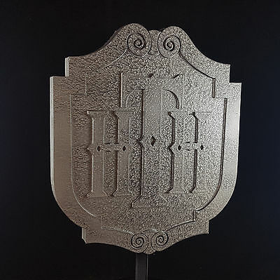 Tower of Terror Themed Sign / Plaque Replica - Stone / Pewter Shade