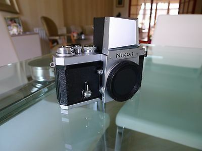 Nikon F camera body, Late Model, with Nikon Action Finder